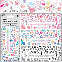 50PCS/lot 2014 NEW 120 different Design,Water decals HOT Nail Art Sticker Full Cover Nail sticker For Fashion Beauty Desgin
