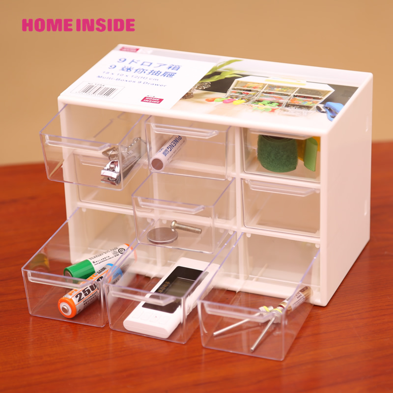 plastic desktop drawers 2