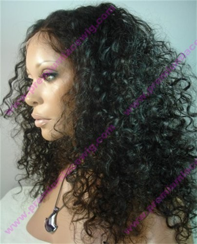 Deep Curly Brazilian Virgin Hair Glueless Lace Front Wig 8-24inch Kinky Curly Human Hair Glueless Full Lace Wigs With Baby Hair