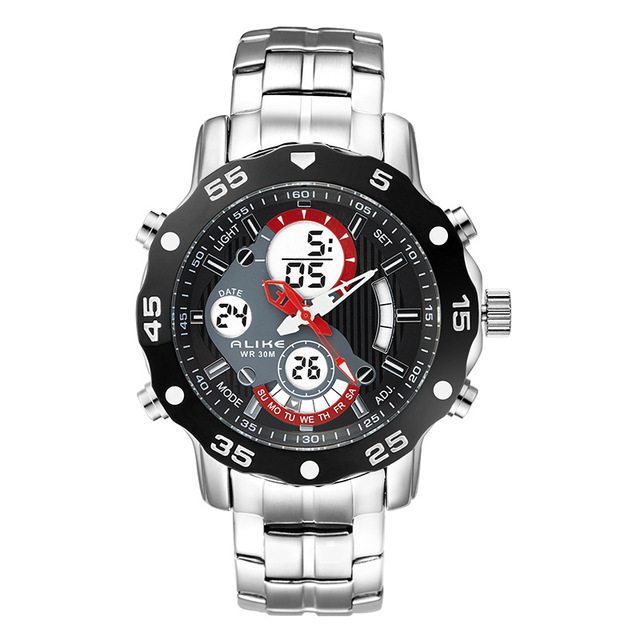 Outdoor Sport Men LED Digital Watch
