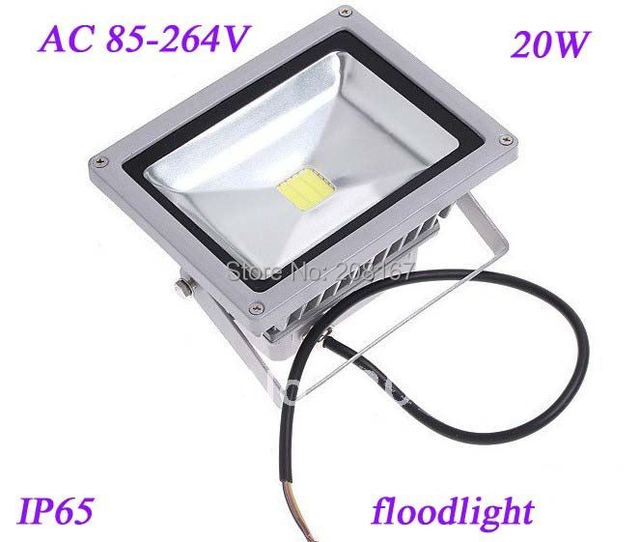 1pcs/pack HOT sale! 20w led flood lamp waterproof, ce rohs AC85-265V