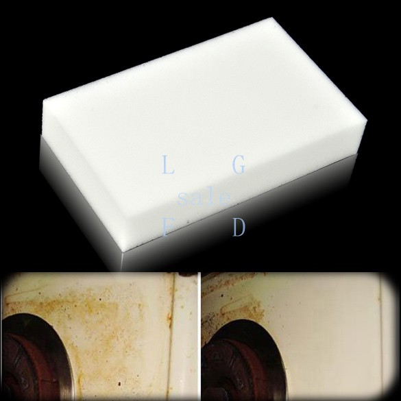 100pcs/Lot Holiday Sale New Magic Sponge Eraser Melamine Cleaning Multi-functional Sponge for Cleaning Dropshipping(China (Mainland))