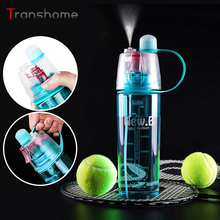 New Arrival Sports Spray Water Bottle Dual-use Bpa Free Plastic Bottles For Water Fashion Space Cups 0.6L/0.4L Transhome(China (Mainland))