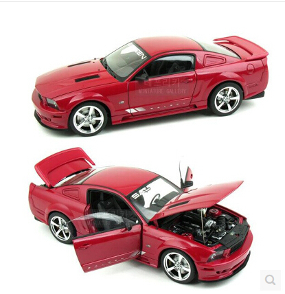 Ford Mustang SALEEN AUTOart 1:18 Original simulation alloy car model S281 Fast & Furious Limited Collection Special offer(China (Mainland))