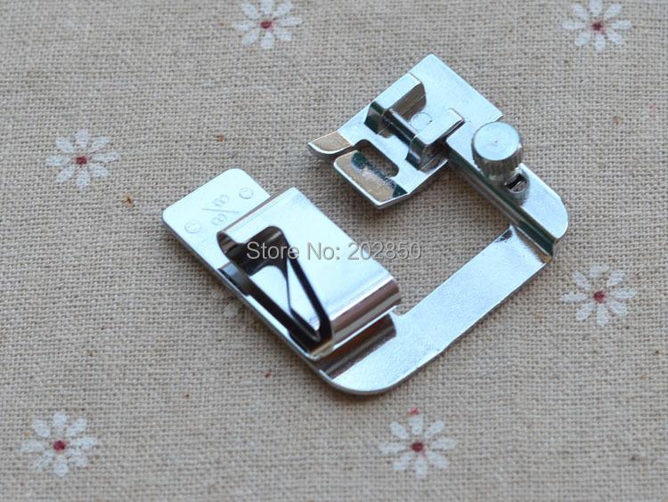 Made In Taiwan Sewing Presser Foot,Adjustable Bias Binder Foot,Rolled Hem Foot,Sewing Feet Kits,Upturn Hemmer Foot,50Pcs/Lot!(China (Mainland))