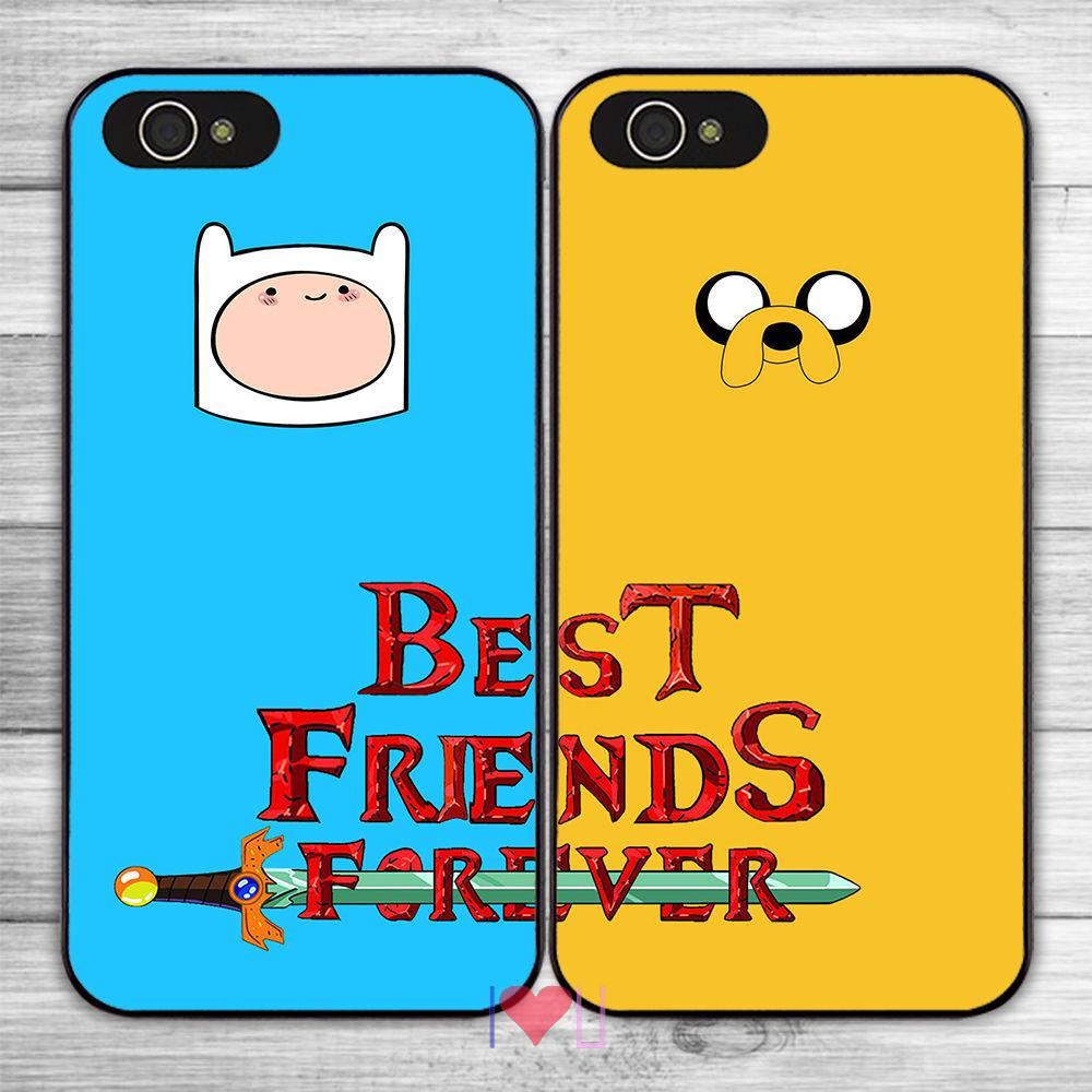 BFF Best Friends Forever Protective back skins cellphone case cover fits iphone 4/4s 5/5s SE 6/6s plus ipod touch4/5/6  -  I LOVE U store