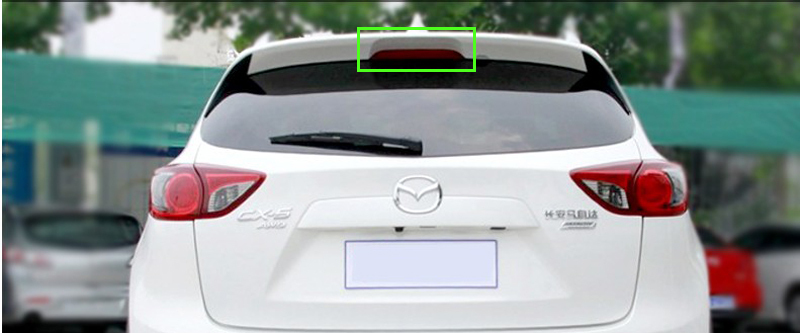 Carbon Fiber Sticker Brake Light Body 3D Decal Stickers Car Styling MAZDA CX-5 CX5 2012 2013 2014 2015 - Ling-ling's Store store