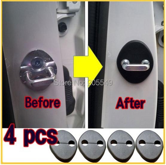 Hyundai 2010 2011 2012 Tucson ix 35 Door Striker Cover 4EA 1Set OEM ix35<br><br>Aliexpress