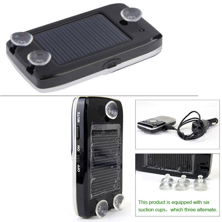 Car stereo with bluetooth phone kit speakerphone speaker visor clip