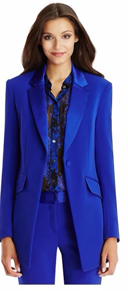 Royal Blue Pant Suit