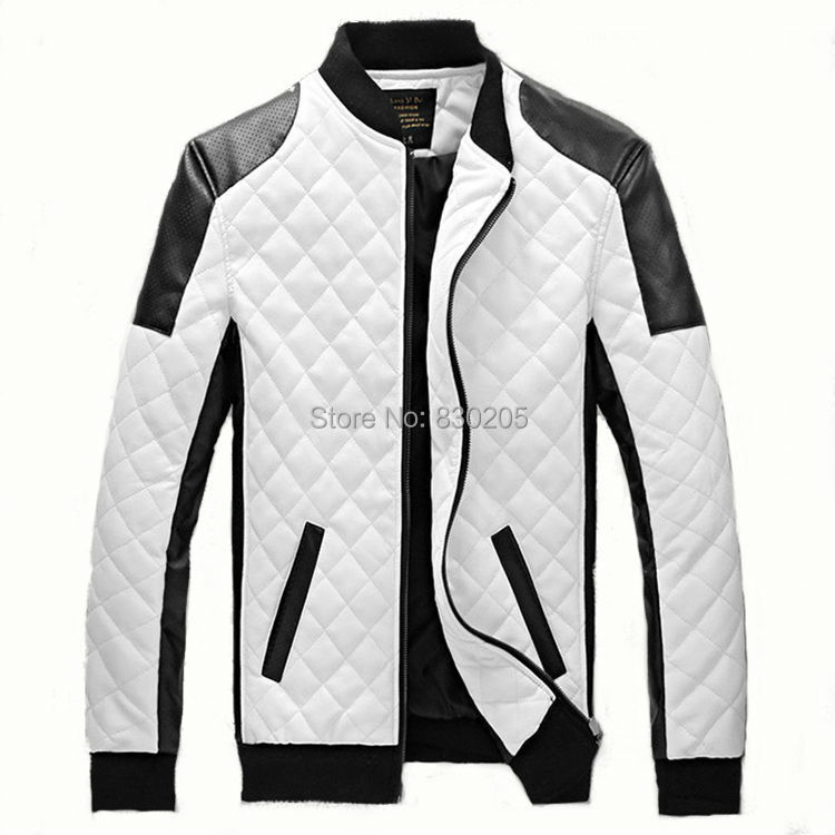 Black And White Baseball Jacket - Coat Nj