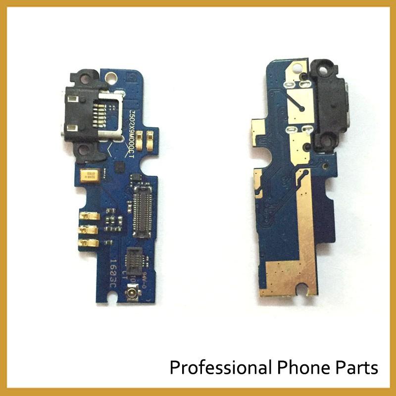 10Pcs/Lot,100% Original Microphone Dock Conector Flex For Xiaomi 4I M4I Mi4I USB Charging Port Flex Replacement Spare Parts