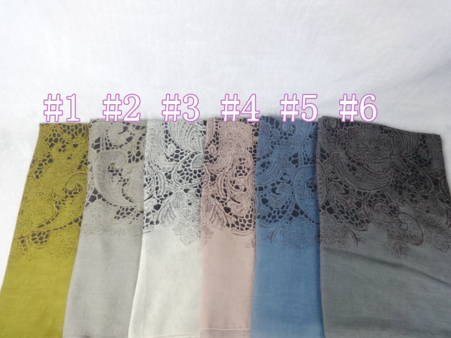 Floral Lace Print Cotton Viscose Ladies Scarves Women Scarfs Fashionable Muslim Hijab 10pieces/lot 100*90cm(China (Mainland))