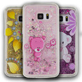 Cartoon Case For Samsung galaxy S7 S6 Edge Case Flowers For Samsung S5 S6 S7 Soft