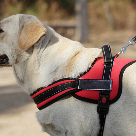 New pet big dog collar Luxury saddle type chest straps product Comfortable Oxford cloth chest back clothes use pet a single rope(China (Mainland))