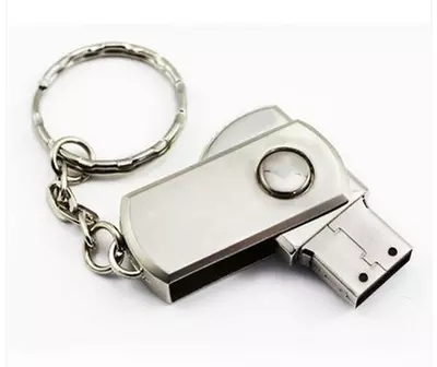 Metal rotary Fashion Pen drive 4gb 8gb 16gb 32gb 64gb Rectangle usb flash drive 128gb Memory Stick Storage Device pendrive(China (Mainland))