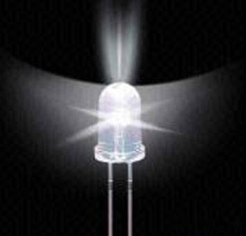 3MM LED Light-Emitting Diodes White Glow White Light Highlighted Luminous Tube 100 PCS / 1 Lot(China (Mainland))