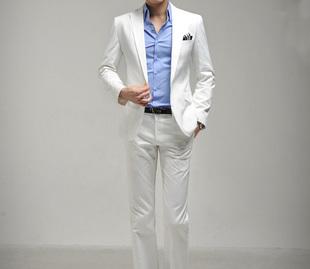 Новый мужской развивать нравственность белый костюм