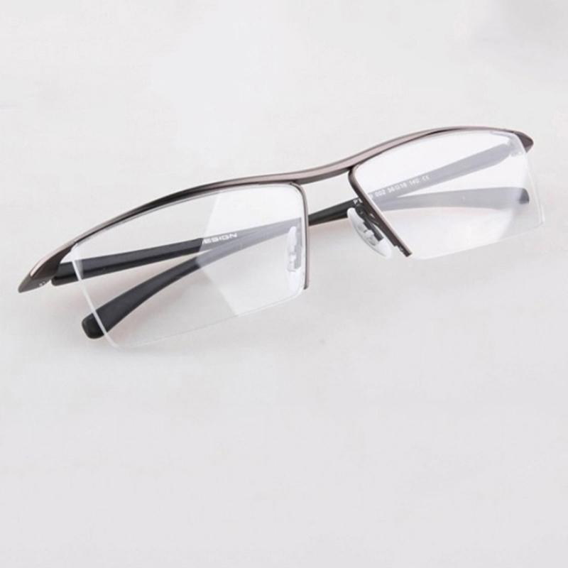 sport glasses frames zqb0  Brand design TR90 legs Rimless Eyeglasses Frames, Metal Adjustable  width Glasses Frame P8189, Men