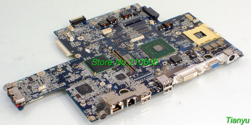 FOR DELL Inspiron E1705 9400 HAQ00 LA-2881P laptop motherboard DF047 0DF047 CN-DF047,fully tested & working perfect(China (Mainland))