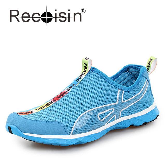 Мужчины женщины летом сетки уличной обуви на прохладный пляж для ходьбы аква вода ...