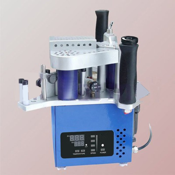 Hand held manual edge bander KM10 version packing , portable banding machine - ABT Shop Of Kinkda store