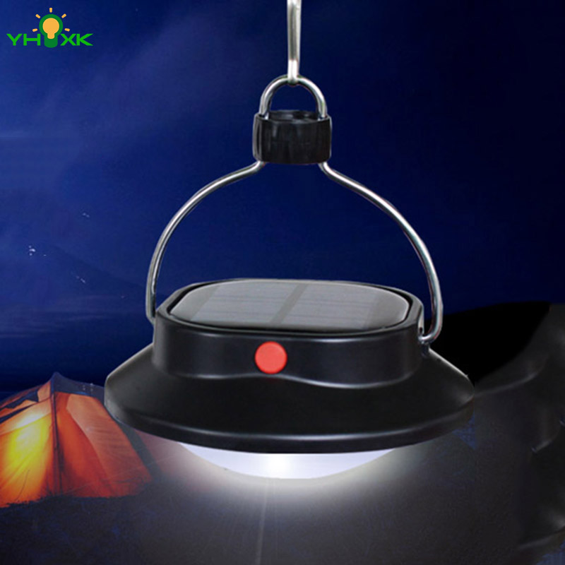 Portable Solar System Outdoor Equipment 60LEDS Camping Fishing Tent Emergency Lantern Lights Solar Camp Lantern(China (Mainland))
