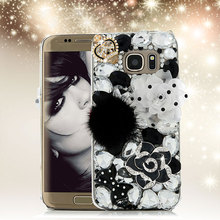 Buy Luxury 3D Rhinestone Case Samsung Galaxy S7 Edge Bling Diamond Crystal Hard Plastic Protective Cover Samsung S7edge for $6.83 in AliExpress store
