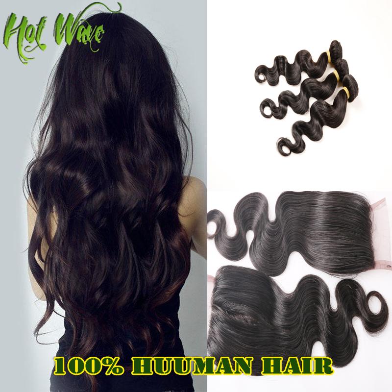 Гаджет  6A Brazilian Hair Weave Bundles With Closure Brazilian Body Wave Closure Full Frontal Lace Closure4x4 Hot Wave Hair Product X104 None Волосы и аксессуары