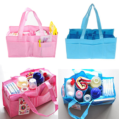 Mummy Bag Bottle Storage Multifunctional Separate Bag,Nappy Maternity Handbag Baby Tote Diaper Organizer AB(China (Mainland))
