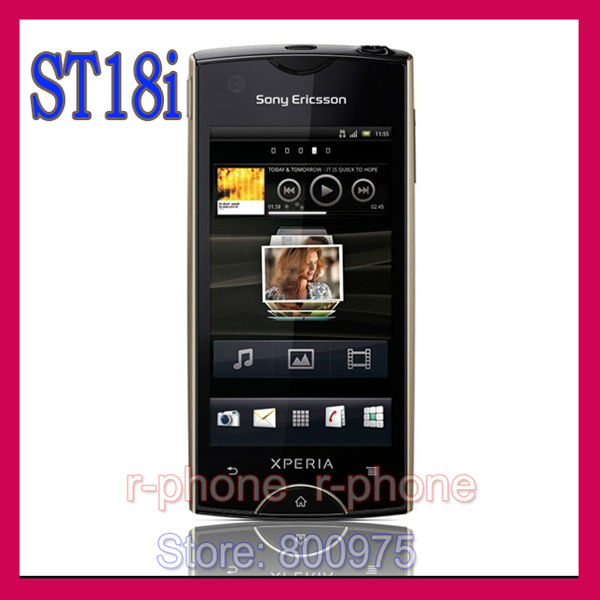 Original Sony Ericsson Xperia ray ST18i Mobile Phone 3G 8MP WIFI Unlocked Touchscreen Android Cellphone(China (Mainland))