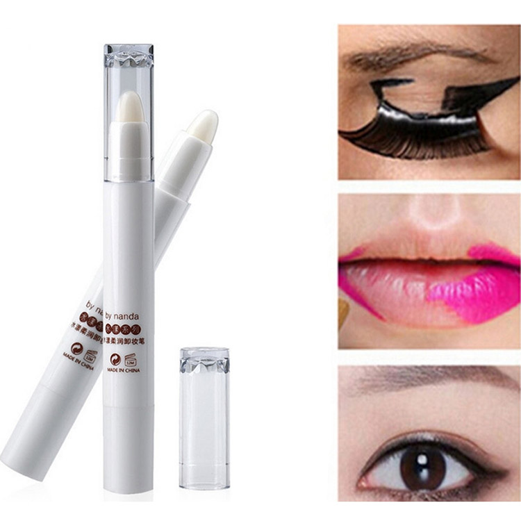 1 x Magic Cosmetic Makeup Remover For Lip Eye Easily Removable Erase Lipstick Eyeliner Dirty Make Up Effect Correct Pen Cream