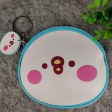 1 шт Kawaii аниме кролик kanahei полиуретановый Кошелек для монет сумка-Органайзер для хранения Кошелек для кредитных карт для девочек Подарки кан...(China)