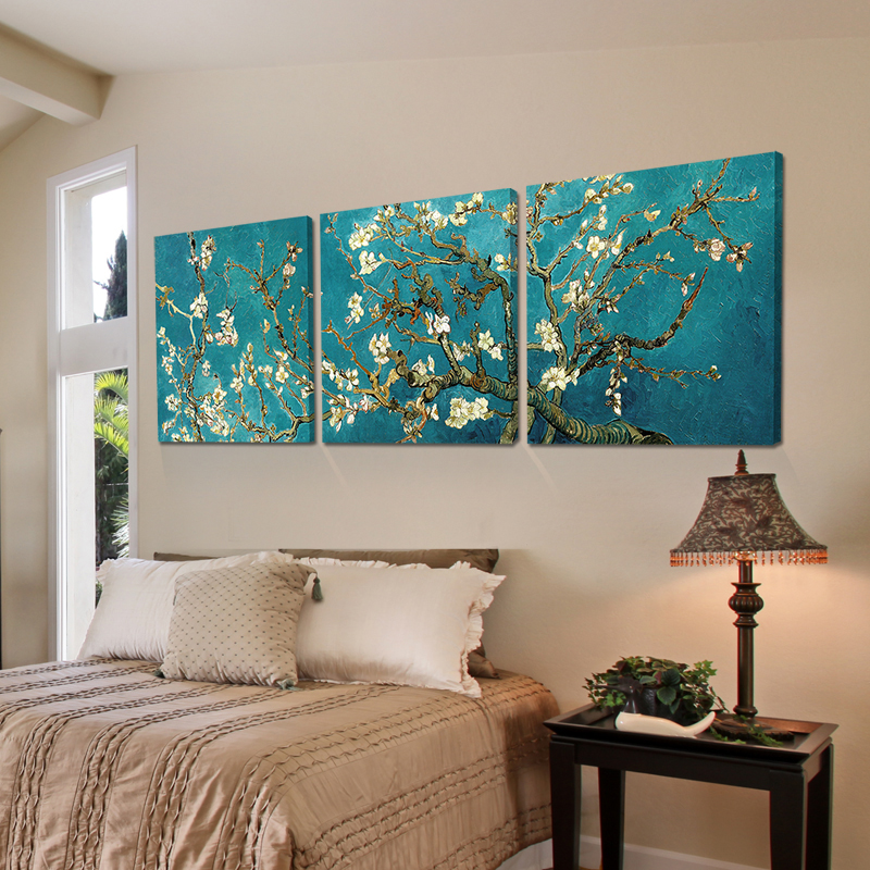 Print Painted Van Gogh Oil Painting Reproductions 3 Piece
