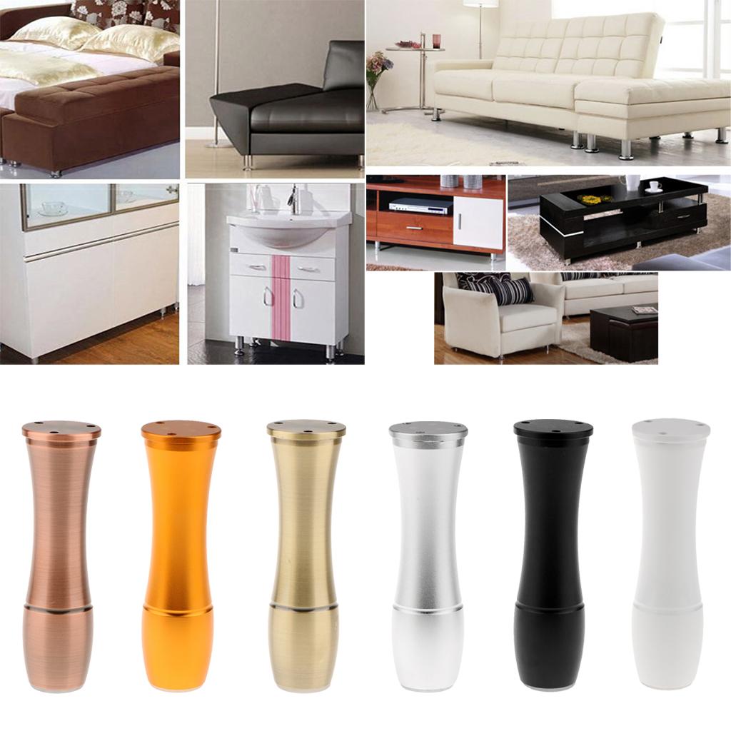 Alloy European Style Furniture Legs Adjustable Anti-slip Sofa Table Cupboard Leg for Sofa Tables Desks  Cabinets Shelves