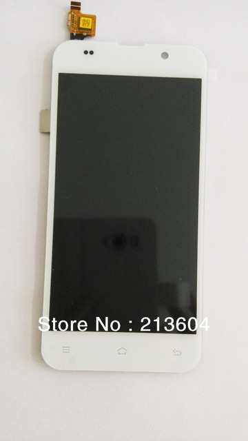 Original Touch screen LCDs for zopo zp980 C2 gorilla screen white color