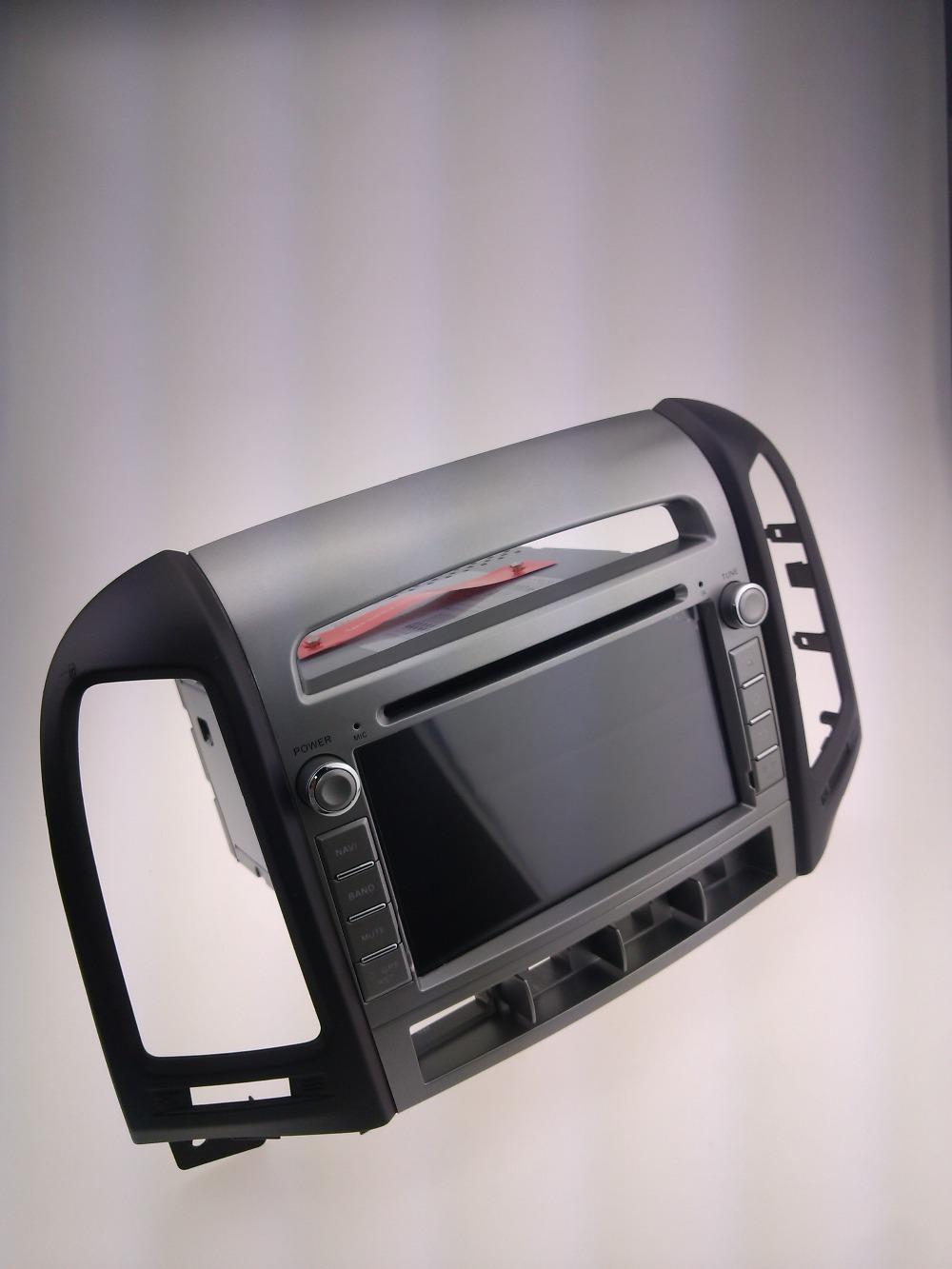 Car dvd GPS Navigation player for SANTA FE 2006-2011 7 inch B
