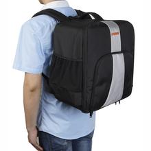 Newest DJI Phantom 4 3 Bag Gold Backpack Carrying Case Handle Hardshell double shoulder strap Bag for DJI Phantom 4 FPV Drone