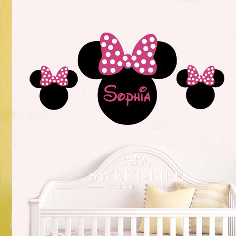 chambre deco minnie buy wholesale disney stickers from china minnie toddler bed set home. Black Bedroom Furniture Sets. Home Design Ideas