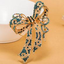 Molto Kawaii Bow Spille Da Sposa Strass collare Delle Donne Del Partito Broccia Perfetto delle Donne Oro Spilla Pin Hijab Borse Donna Bijoux(China)