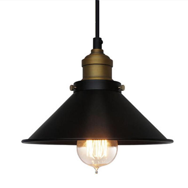Black Kitchen Light Fixtures Nordic Loft Vintage Black