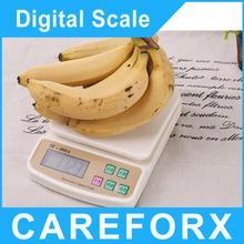 Venta como las tortas calientes! 10 kg X 1 g digital postal KitchenCouting retroiluminación balanza electrónica contando
