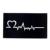 2017 1 шт. Хной Татуировка Трафаретов Женщины Body Art Краска Сердце Экг Рисунок Небольшой Хна Шаблон Татуировки Паста G91