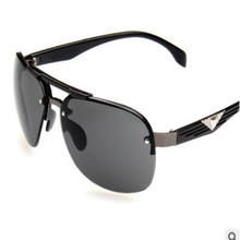 The new 2015 sunglasses Men big frog mirror box restoring ancient ways Men's sunglasses F04 uv protection glasses