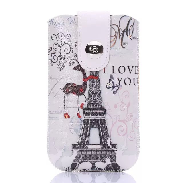 1Pcs Free Shipping Drawing Design Optional Pouch Cover Portable Bag Pull Leather Case For HTC Desire 516 316 D516(China (Mainland))