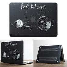 Nouvel étui pour ordinateur portable pour Apple MacBook Air Pro Retina 11 12 13 15 pour mac book Pro 13.3 15.4 pouces avec tablette tactile + housse de clavier(China)