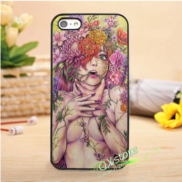 Audrey Kawasaki Art 1 fashion phone cover case for iphone 4 4s 5 5s SE 5c 6 6s 6plus & 6s plus #qt30(China (Mainland))