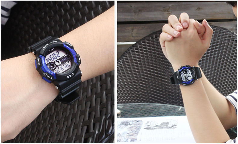 OTS children watch the boy student girl waterproof electronic watch outdoor sports watch function of pupils