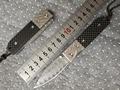 2017 High quality Folding Blade Knife 63 HRC Damascus Knives Carbon fiber Handle HRC 62 Damascus