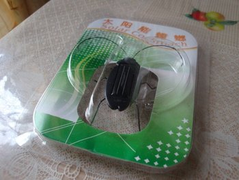 100pcs Solar Toy, Solar cockroach,Green gift,Solar Powered Grasshopper